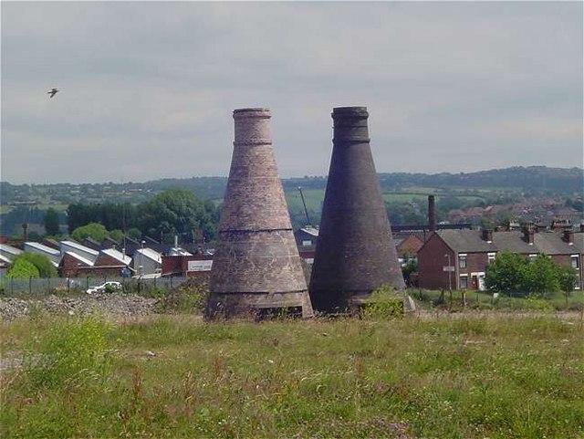 Bottle Kilns at old Johnson Brother Works
