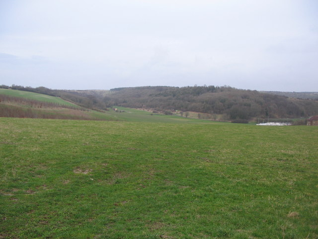 View to Mancombe Down