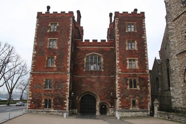 Lambeth Palace gatehouse