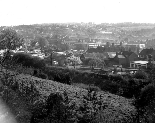 View over Oakengates