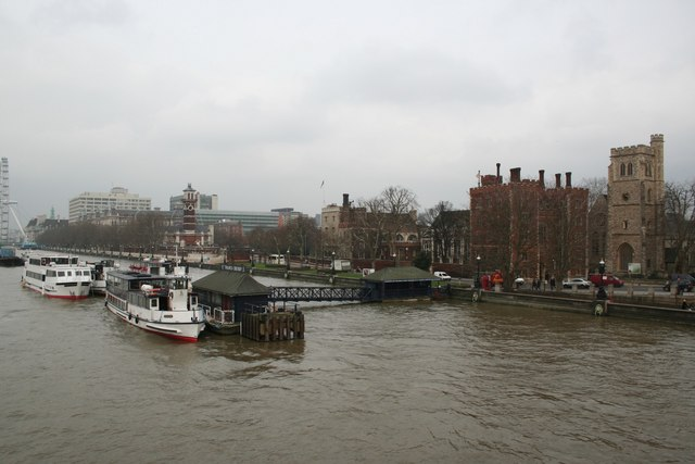 Lambeth Palace from Lambeth Bridge