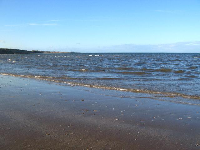 Low Tide at Gullane Bay