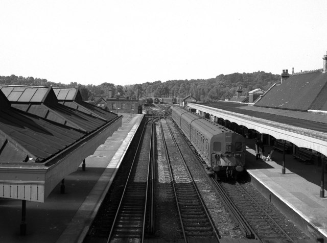 Coulsdon North station, Surrey