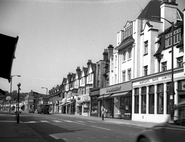 Shopping parade, Brighton Road, Coulsdon, Surrey