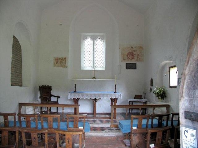 St Peter Old Church, Stockbridge, Hants - East end