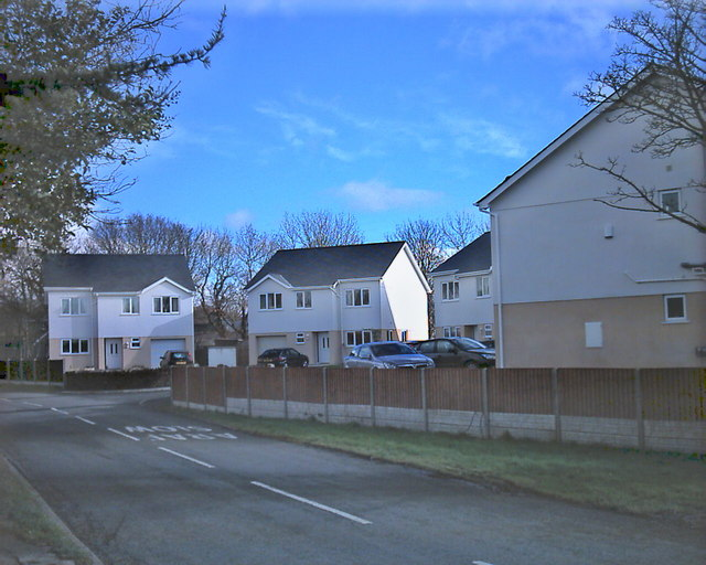 New housing development in Chwilog