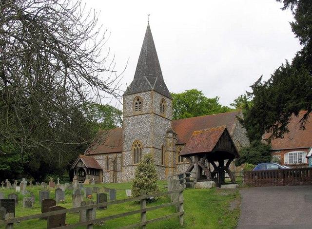 St Mary, Laverstock, Hants