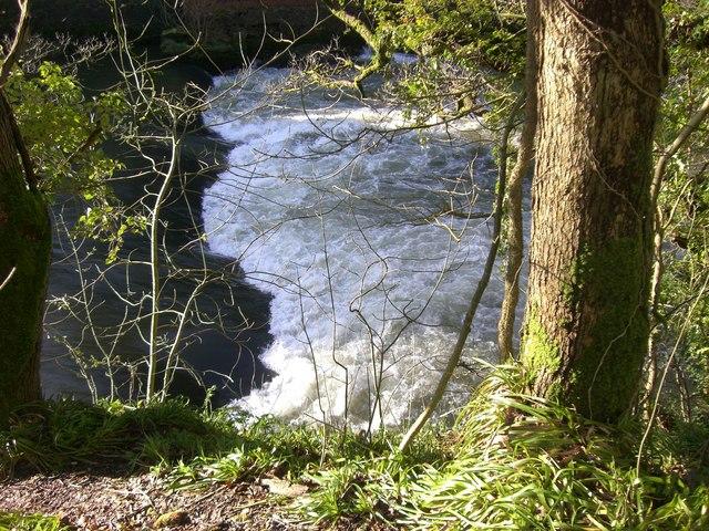 The energy of the Afon Teifi