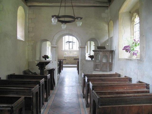 St Mary, Ashley, Hants - East end
