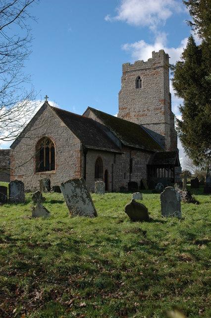 Berrow church