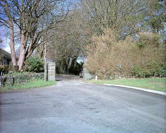 Beginning of Y Lôn Goed at Afonwen