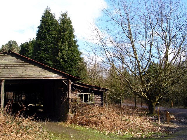 Forester's Timber Shed, Bedgebury Forest