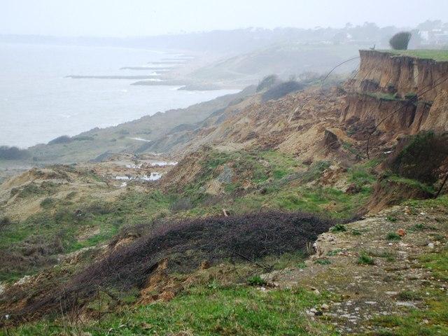 Erosion at Barton.