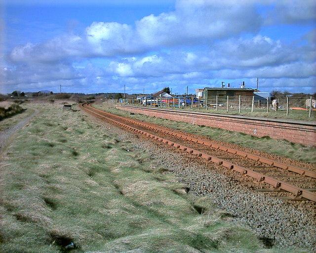 Safle Gorsaf Afonwen Station site