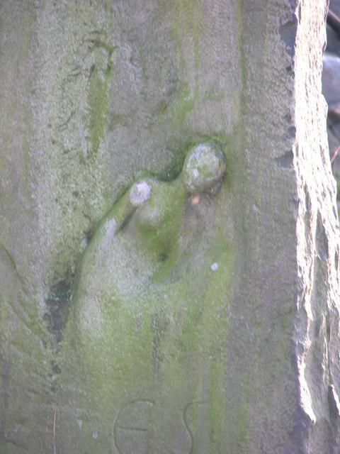 Ellen Strange's grave