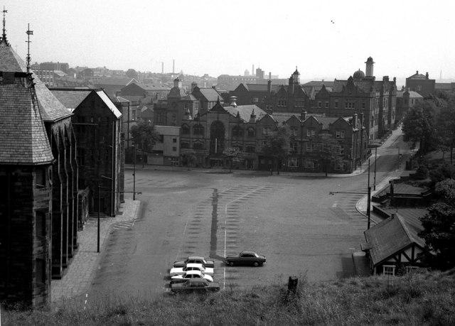 Town Hall Square, Rochdale, Lancashire