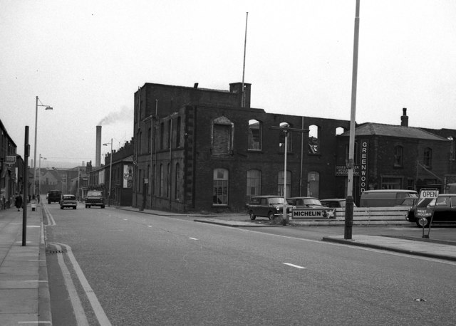 Atlas Iron Works, Whitworth Road, Rochdale, Lancashire