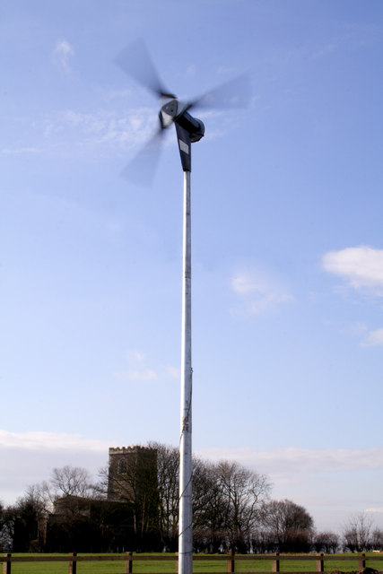 Proven 6 Kw 15M Turbine at Skeffling Village Hall
