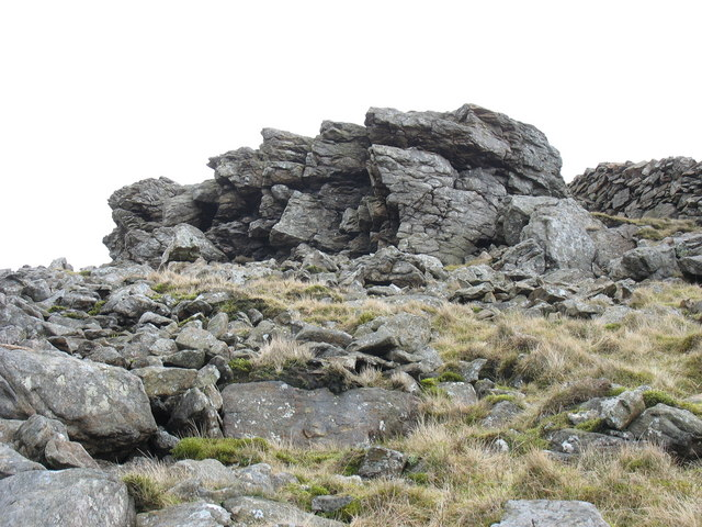Approaching the summit  of Gyrn Goch