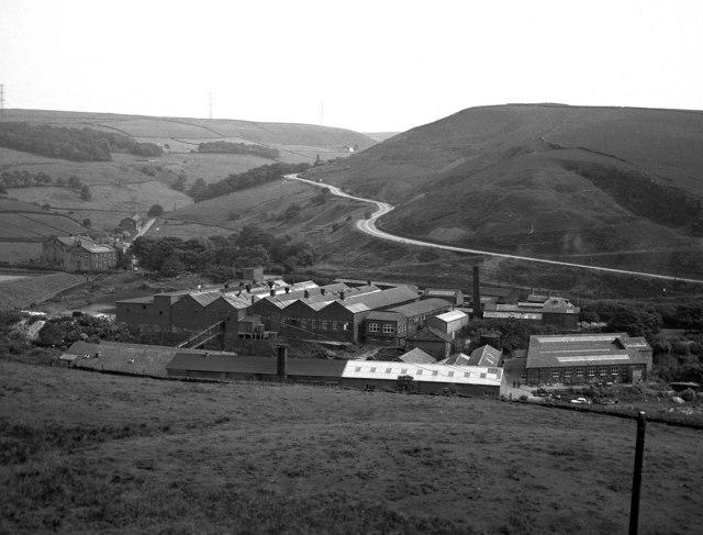 Ogden Mill, near Newhey, Lancashire