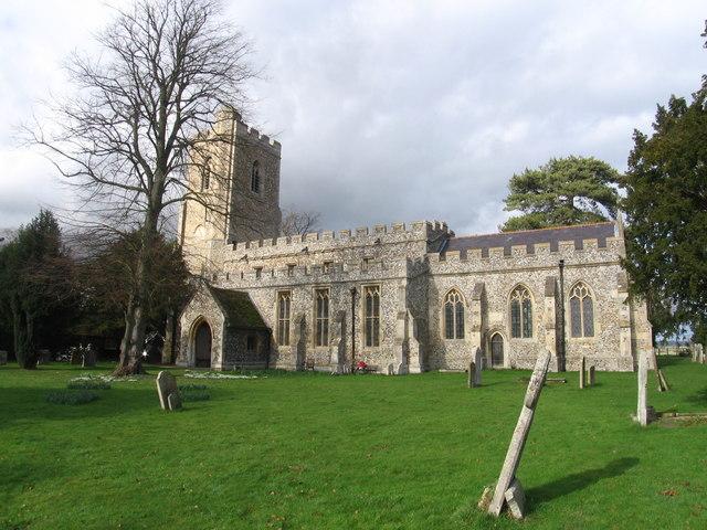 St Mary's Church, Whaddon