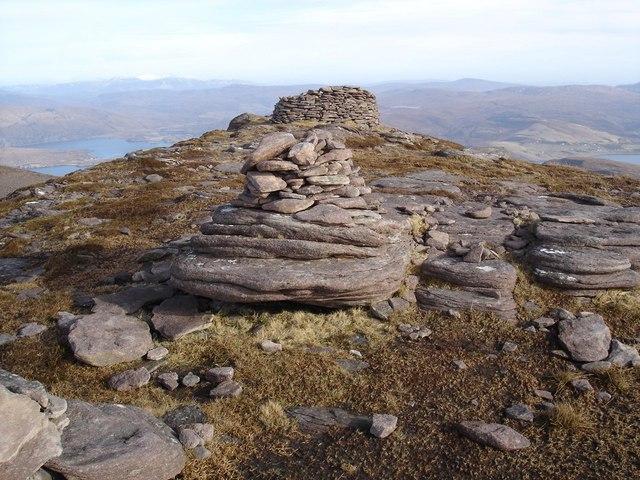 Summit of Beinn Ghobhlach