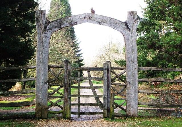Blackwater Arboretum Entrance