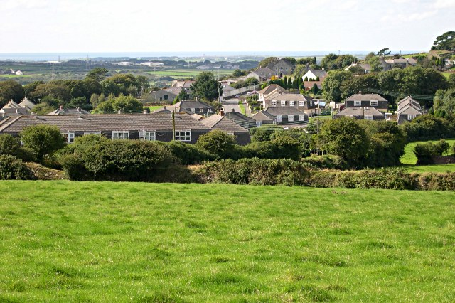 Postwar housing on the eastern side of St Dennis