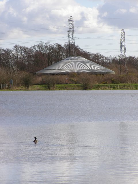 Testwood Lake and pumping station
