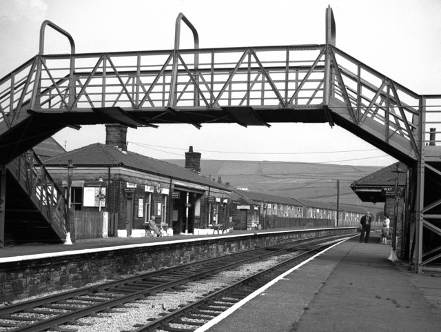New Hey station, Lancashire