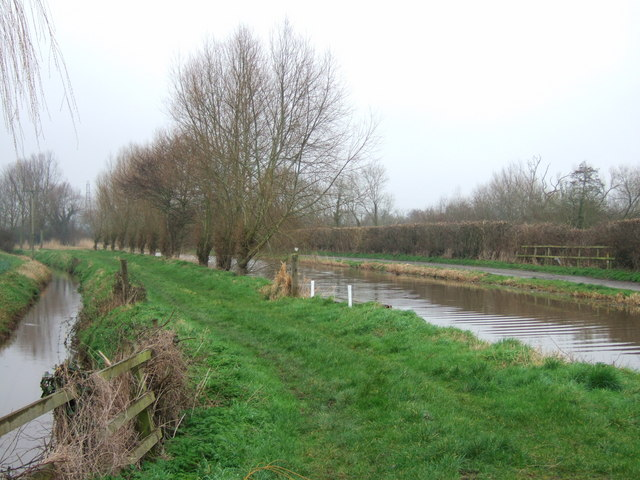 Drain and canal at Fordgate