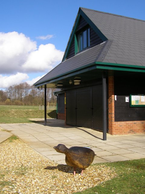 Entrance to Testwood Lakes study centre
