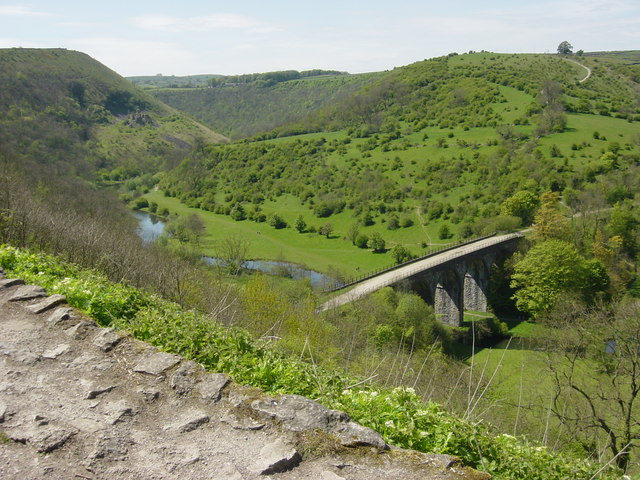 Monsal Head Viaduct from Monsal Head Pub