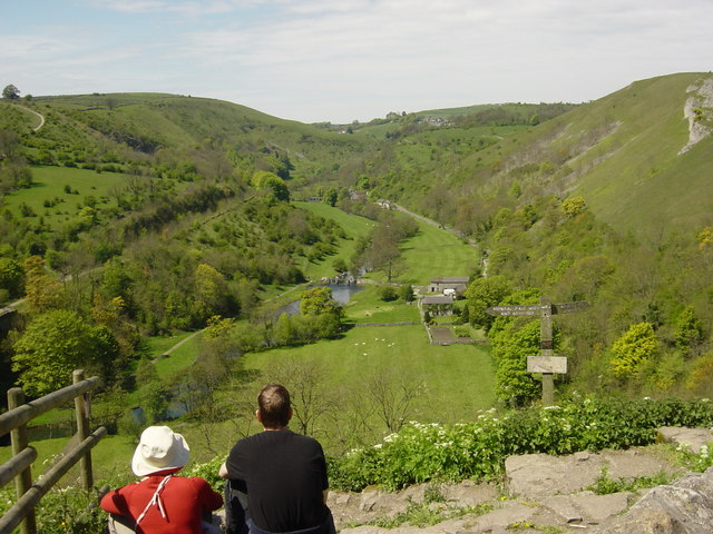 Monsal Dale from Monsal Head Pub