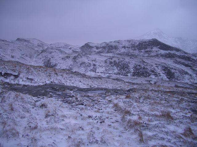 Rough ground below Stob Coire Easain