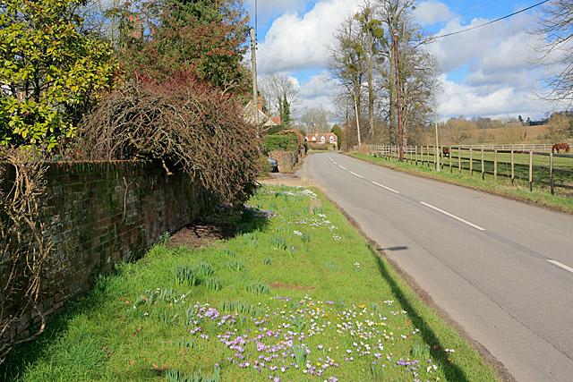 B3048 at Hurstbourne Priors