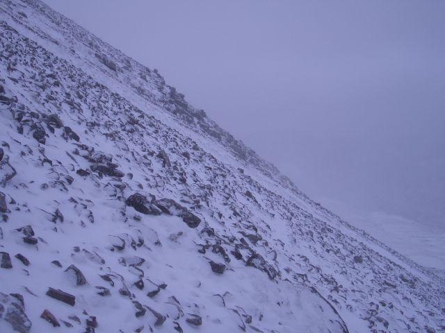 Rocky ascent