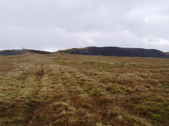 Disused mine on West Scrafton Moor