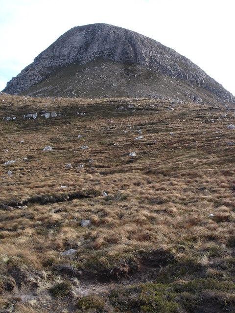 Northern ridge of Beinn Ghobhlach