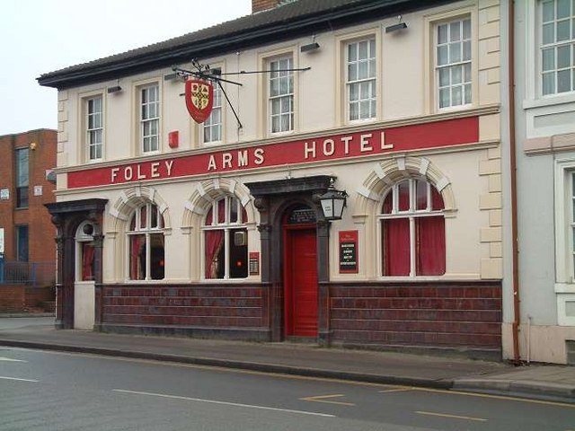 Foley Arms Hotel, Fenton