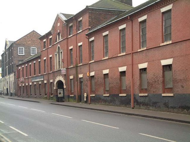 Boundary Pottery Works, Longton