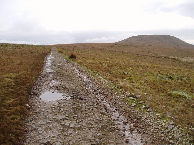 Track across Arkleside Moor