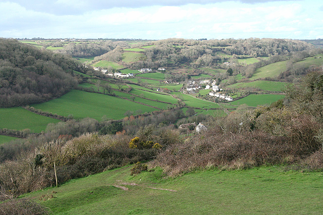 Branscombe: from East Cliff