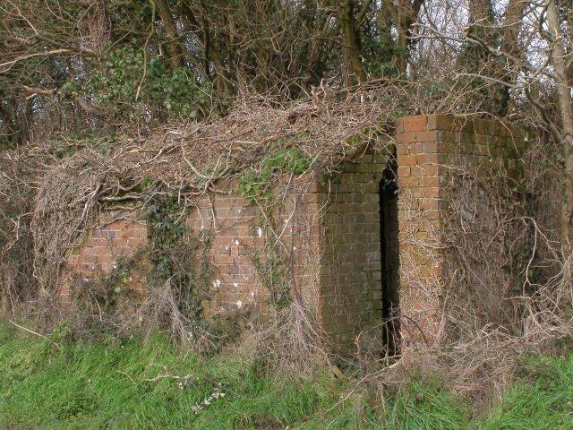 Air raid shelter (?) on Mill Lane, Nursling
