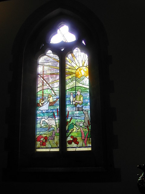 Window - St Michael & All Angels, Hinton