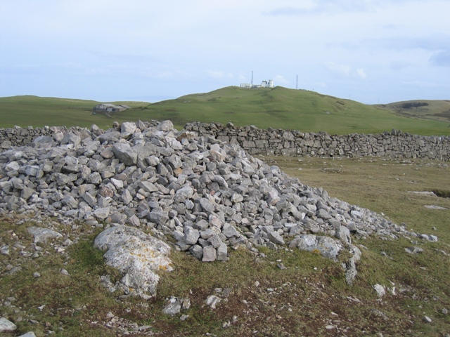 Cairn on the Great Orme and Summit Complex