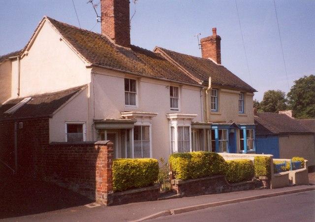 Houses, Great Hales Street, Market Drayton