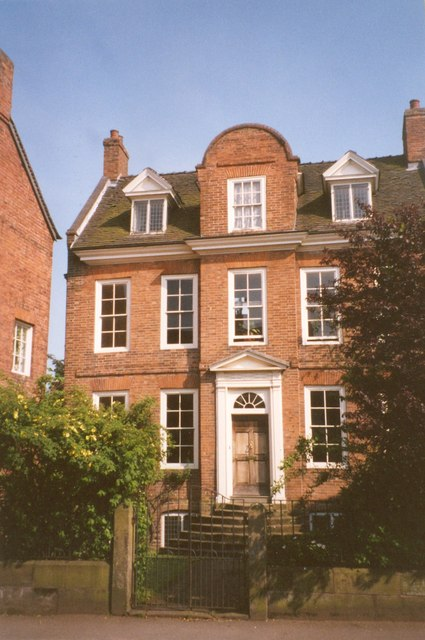 British queen anne style home
