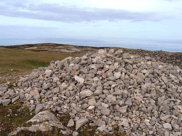 Cairn on the Great Orme and Limestone Pavement