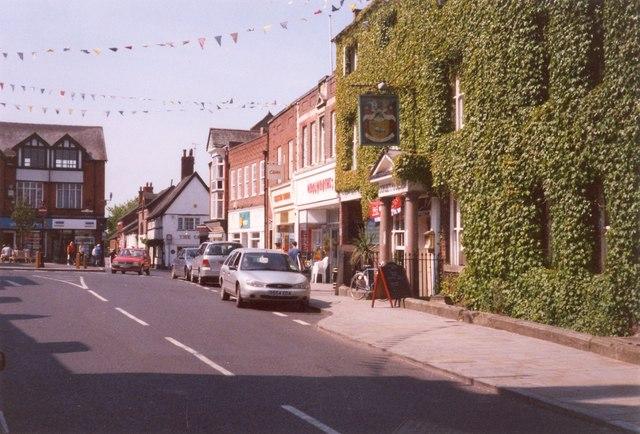 High Street, Market Drayton